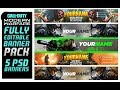Call of Duty Modern Warfare Banner Pack Fully Editable PSD Banners Template