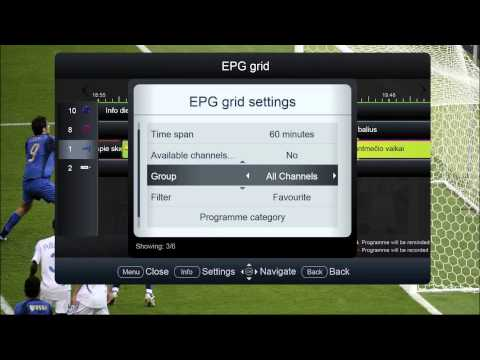 IPTV.iQ: Electronic Programme Guide