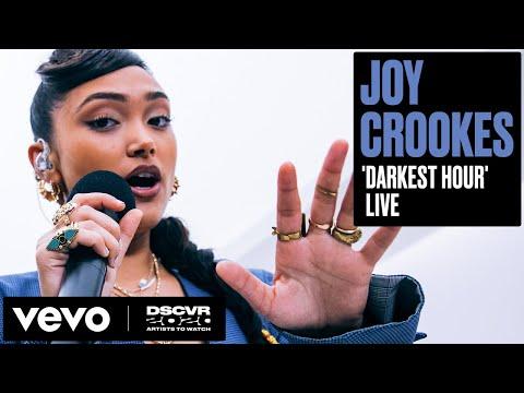 Joy Crookes - Darkest Hour   Vevo DSCVR Artists to Watch 2020