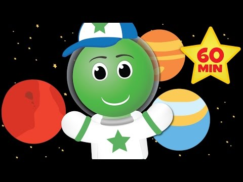 Planets Song (More ALPHABET SONGS & COUNTING SONGS - Over 1 HOUR of Kids Songs)