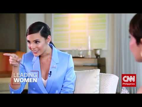 CATRIONA GRAY at CNN Philippines' Leading Women
