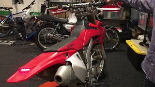 Honda CR250X private sale  running perfectly