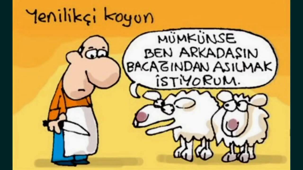 Kurban bayramı karikatürleri