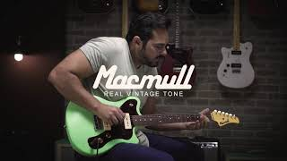 Macmull Stinger - Fingerstyle Demo By David Levi