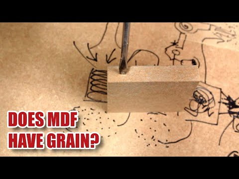 Does MDF have a grain? [164]
