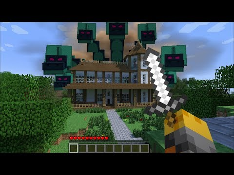 GIANT HYDRA APPEARS IN MY HOUSE IN MINECRAFT !! Minecraft thumbnail