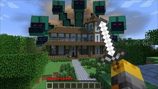 GIANT HYDRA APPEARS IN MY HOUSE IN MINECRAFT !! Minecraft