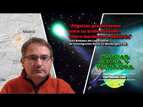 7 🚀Noticias Ciencia: COMETA ATLAS ☄ C/2019 Y4   Marte   Luna   los días duraban menos   Exoplanetas