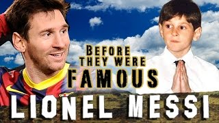 LIONEL MESSI - Before They Were Famous