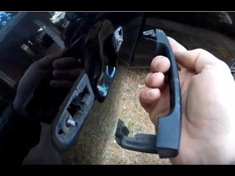 Replace Broken Rear Door Handle Toyota Matrix Pontiac Vibe Youtube