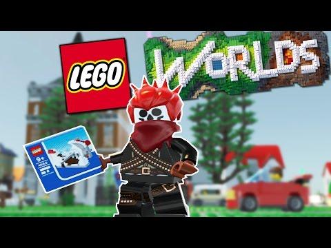 Lego Worlds Gameplay | CIVILIZATION FOUND!! | Let's Play Lego Worlds Gameplay & Playthrough