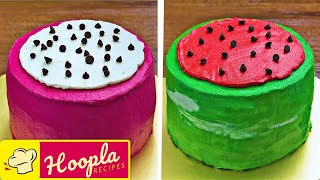 Fun Food for Kids | Watermelon Cake Decoration Ideas | DIY Quick and Easy Recipes | Hoopla Recipes