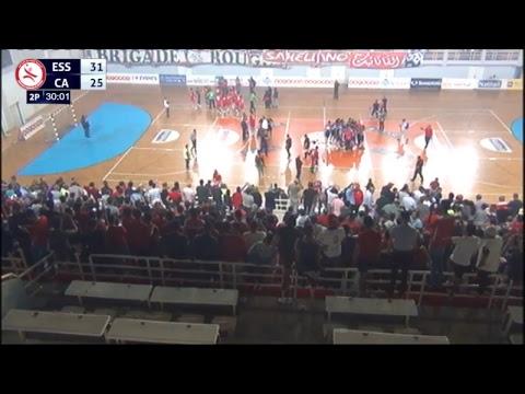 ESS vs CA - 5éme journée play-off - Handball