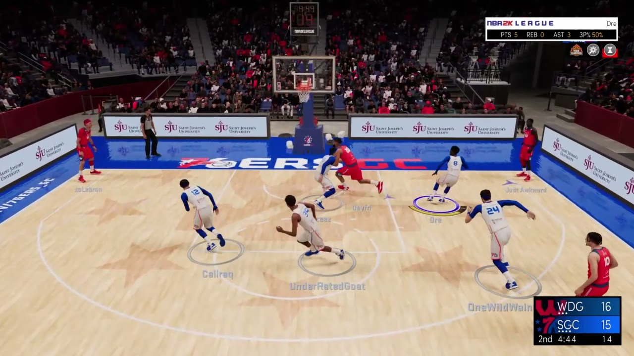 Highlights: Wizards District Gaming beats 76ers GC 57-54 in Game 1 on 6/9/2021