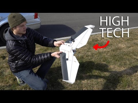 Fly-By-Wire FPV Race Wing from Mini Quad Parts