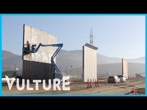 Trump's Border Wall Prototypes Are Minimalist Art — and Should Be a National Monument