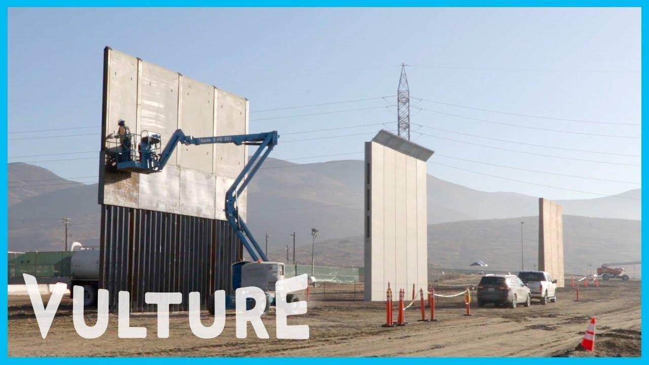 Trump S Border Wall Prototypes Are Minimalist Art And