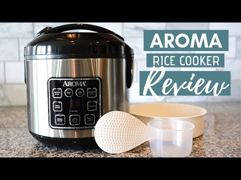 Aroma Rice Cooker Review + How To Use