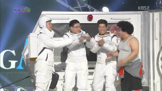 [HIT] 개그콘서트-우주서 먹는 삼겹살 맛은?..