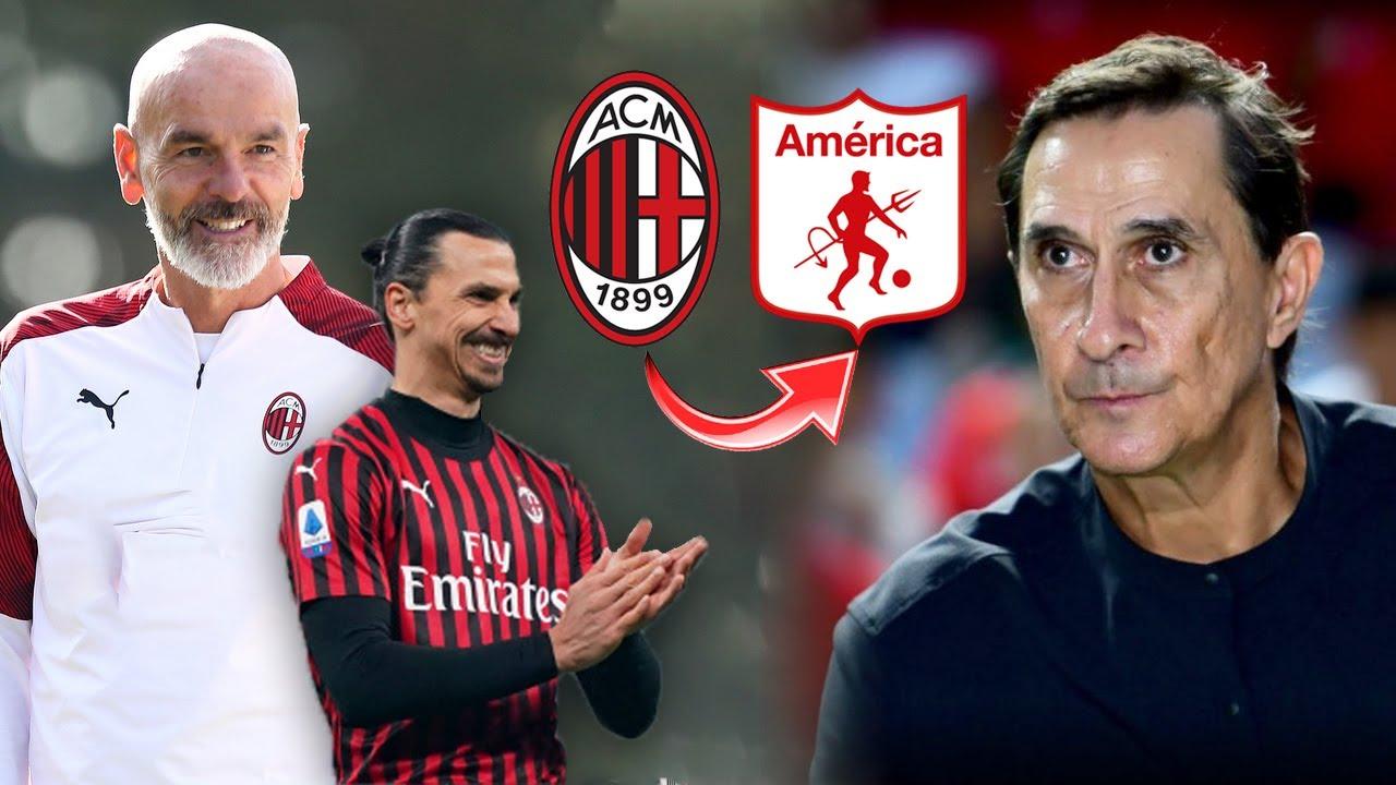 Técnico Del Milan Se Inspira En El América de Cali