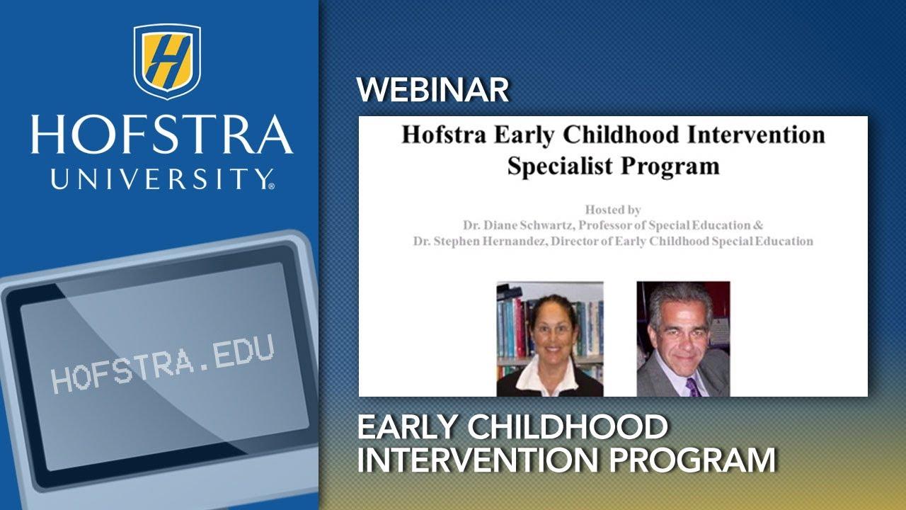 Hofstra Early Childhood Intervention Program Youtube