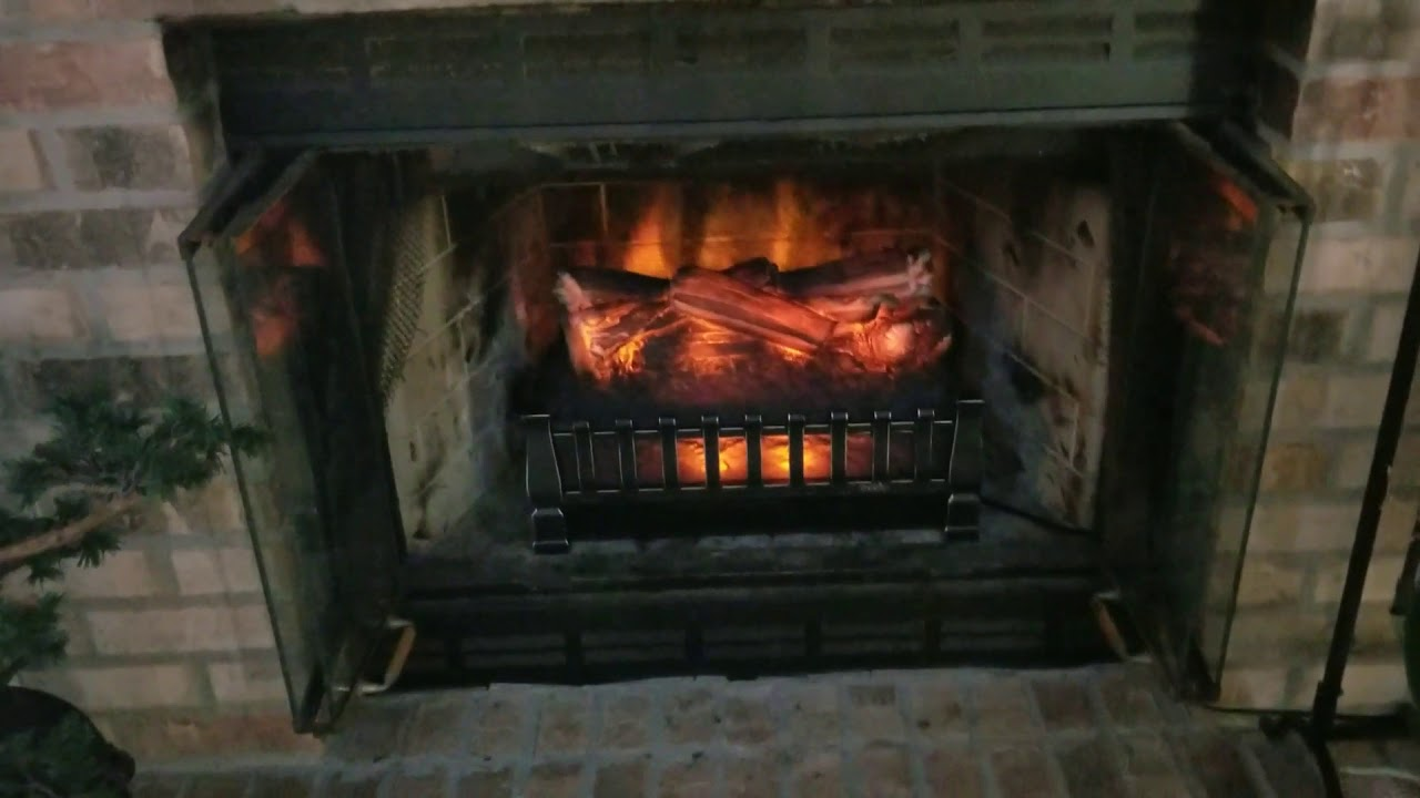 reviewing electric fireplace insert heater duraflame dfi021aru