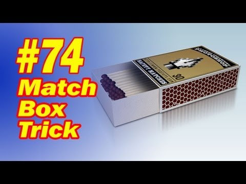 Magic Match Box Trick - Easy To Do Trick With A Box Of Matches - FREE Download