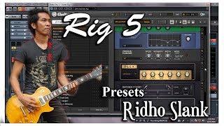 Presets Guitar rig5 Ridho SLANK