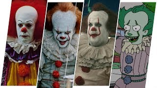 Download It (Pennywise) Evolution in Movies, TV & Cartoons (2018) Mp3 and Videos