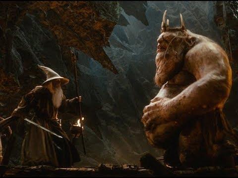 The Hobbit-Escaping Goblin