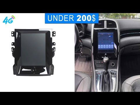 CHEVY Malibu Tesla Style Android Head Unit Review And Wiring   Autochose