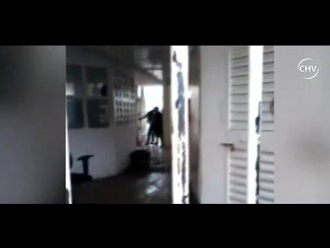 Interno captó golpiza de gendarmes a reos en La Serena - CHV Noticias