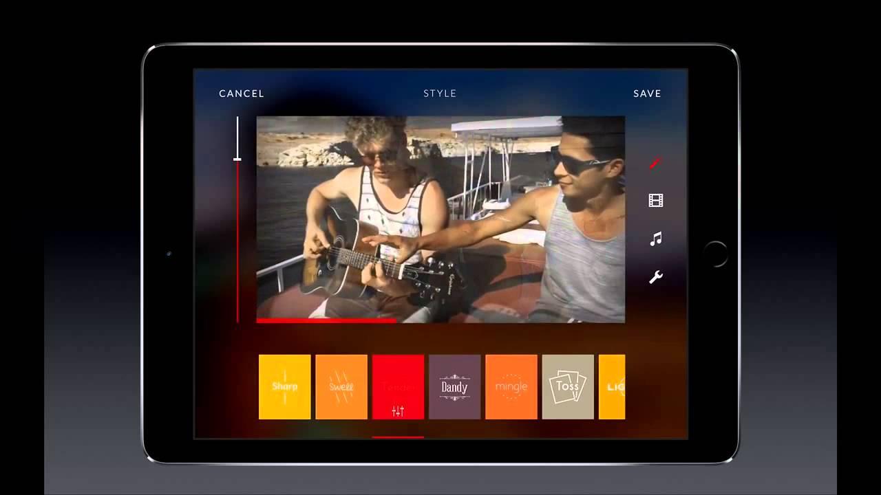 Е для на фотографий ipad обработка приложение