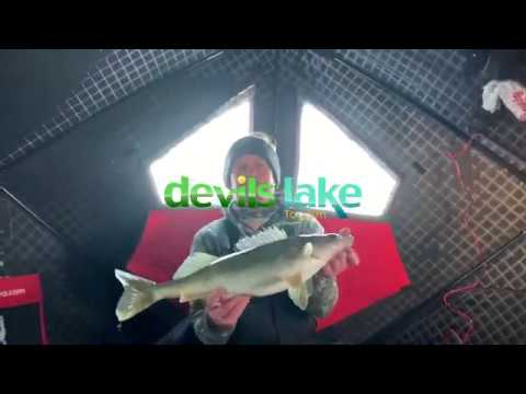 Devils Lake Fishing Report 1-9-20