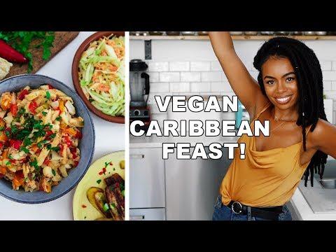 DELICIOUS CARIBBEAN FEAST! 5 epic easy vegan recipes