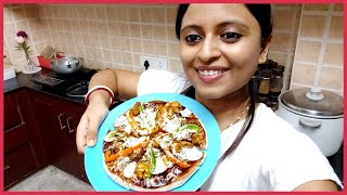 Instant Chicken Pizza at Home in Induction | Evening Special Snacks | Glam With Me
