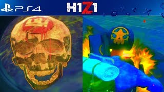 I FOUND THE SKULL OF THE KING! H1Z1 PS4 ARCADE GAMEPLAY (H1Z1 PS4 SCAVENGER HUNT)
