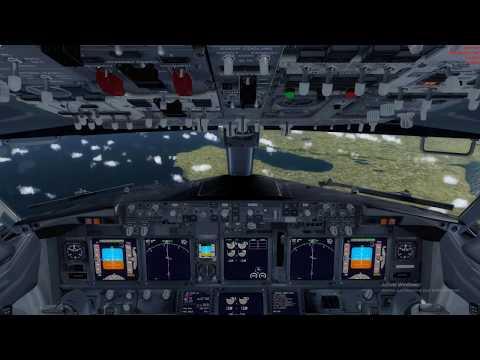 P3DV4 36KTS LATERAL WIND DUBLIN TO OSLO eidw engm 737 pmdg