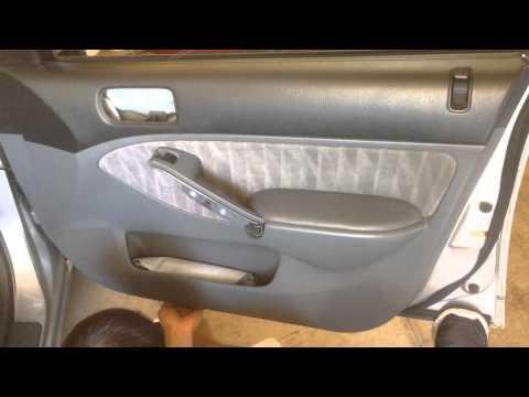 Tutorial: How to Fix 01-05 Honda Civic Stuck Window