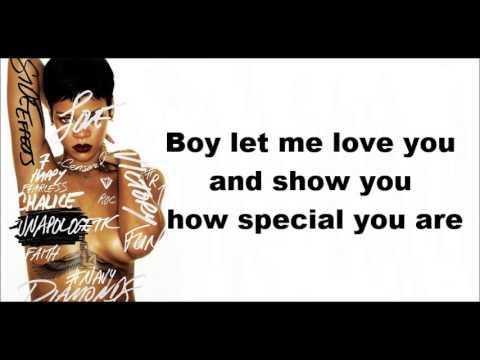 Rihanna- Nobody's Business feat. Chris Brown lyrics