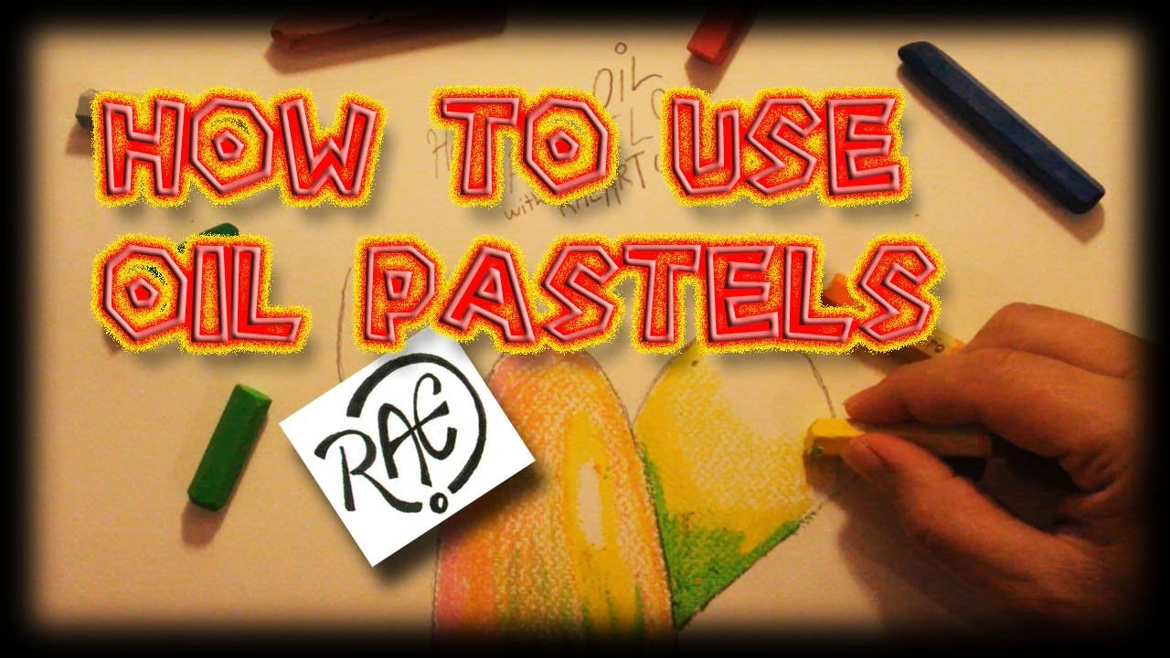 How To Use Oil Pastels Shading Techniques Live Drawing By Raeart