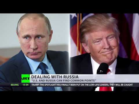 Trump on Russia: Getting along is great, sinking their ship is not
