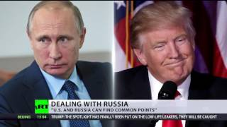 Trump on Russia  Getting along is great, sinking their ship is not