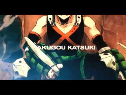 Katsuki Bakugo My Hero Academia Youtube
