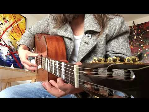 Senegal Scale in open Tuning