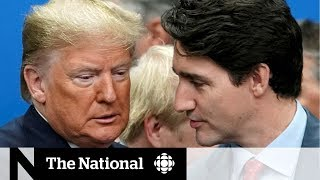 Trump reacts to Trudeau's candid comments at NATO