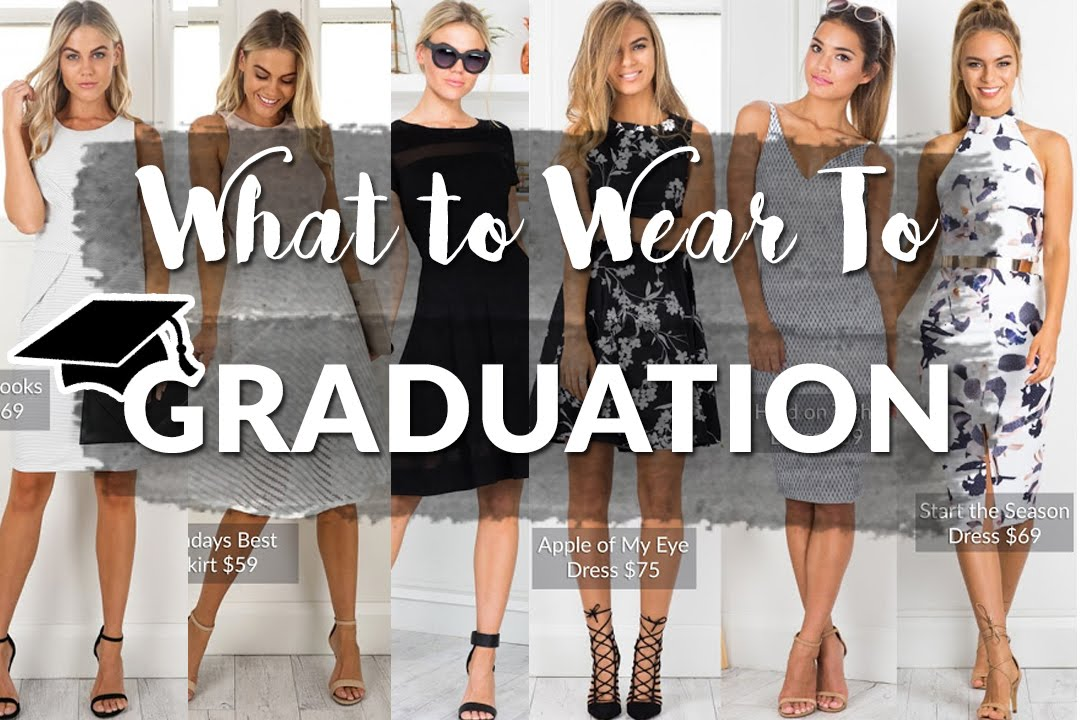 what to wear on graduation
