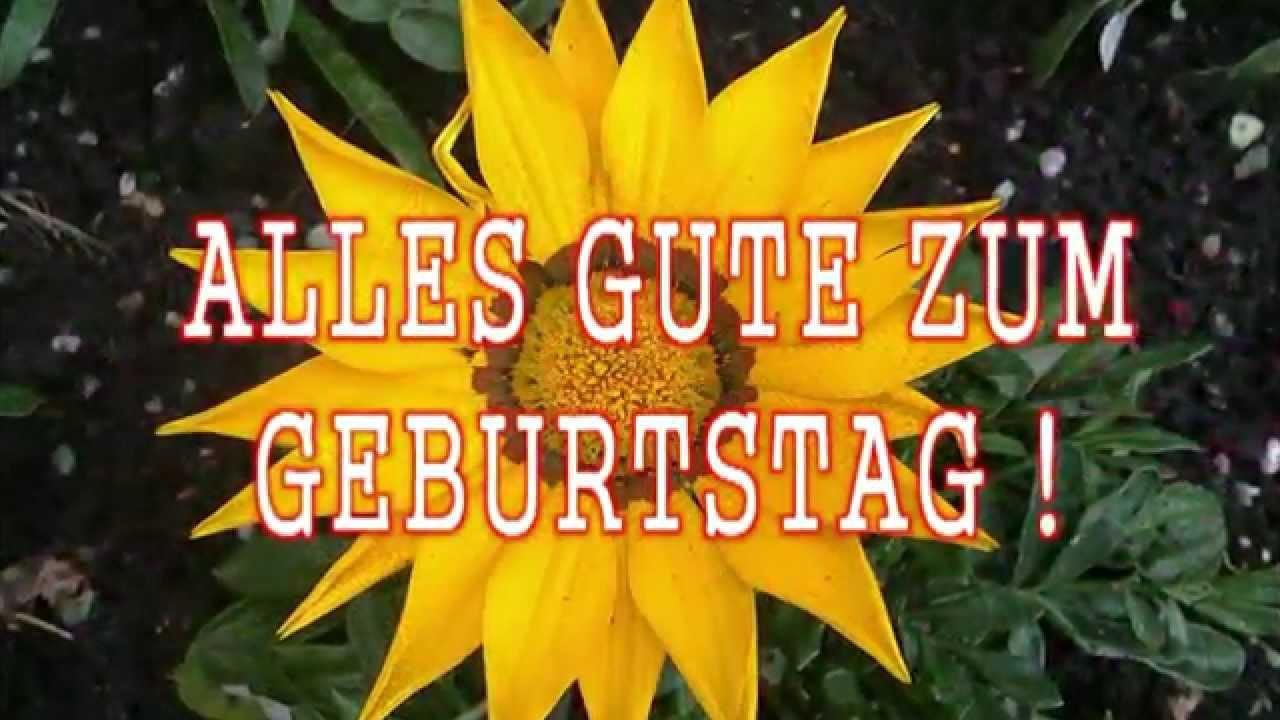 Geburtstagssong lustig deutsch - YouTube