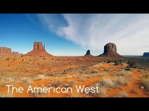 A Road Trip Through The Western United States - December, 2016