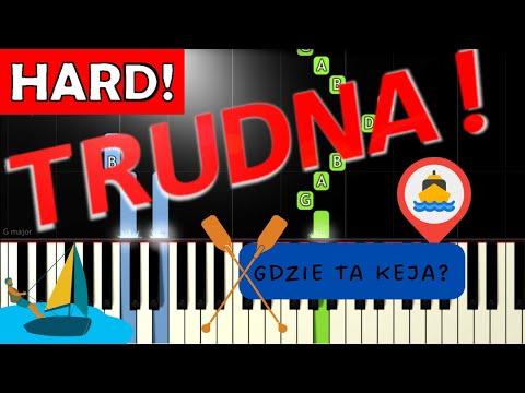 🎹 Gdzie ta keja - Piano Tutorial (TRUDNA! wersja) 🎹